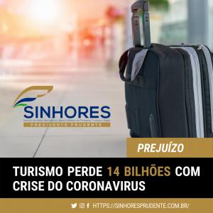 Turismo perdeu R$ 14 bilhões com crise do coronavírus, somente em março
